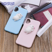 Buy 3D Elastic Cute Squishy Toys Apple iPhone X Phone Case Cover Soft Silicone TPU Phone Case Cartoon Back Cover Capa Fundas for $2.84 in AliExpress store