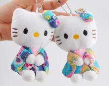 Hot Mix Colors - Wedding Plush Toy - 11CM Middle Size Hello Kitty Stuffed plush toys - Gift keychain Kitty Plush Toy