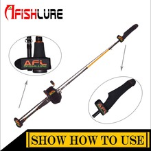 NEW Easy Fishing Tackle Fishing Rod Covers Accessories Fabric Pole Glove Clothes Protector Black Lure Rod cape(China)