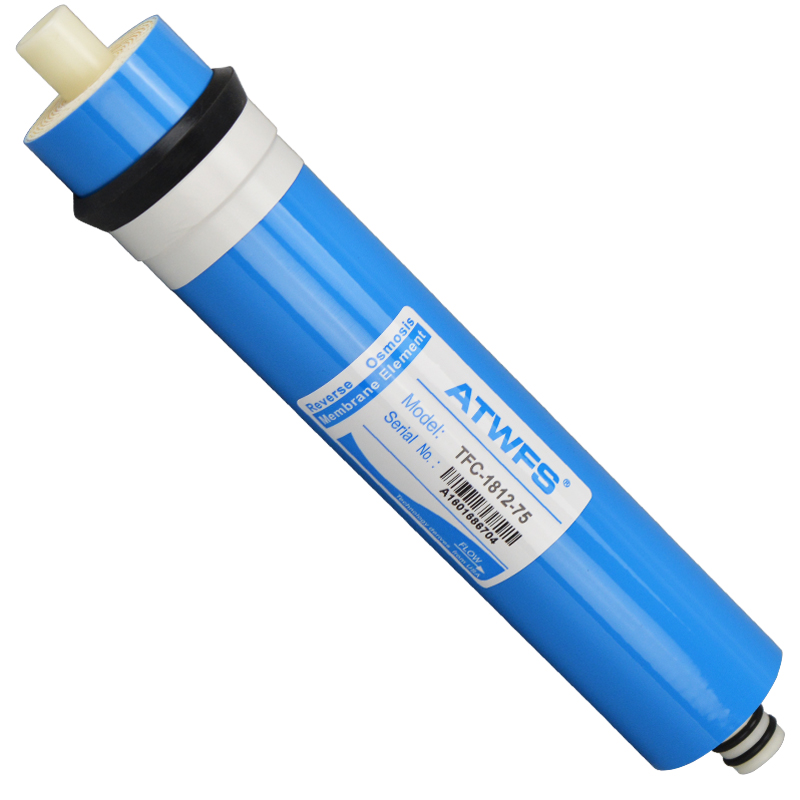 ATWFS High Quality 75 gpd RO Membrane Reverse Osmosis Membrane System Water Filter Cartridge TFC-1812-75<br><br>Aliexpress