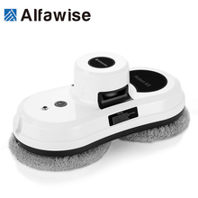 Alfawise Window Glass Cleaning Robot Vacuum Cleaner Robot Remote Control High Suction Anti-falling Best Robot Vacuum Cleaner S60(China)