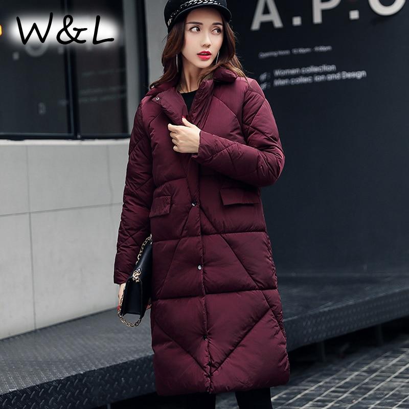 Parkas Jackets Women Coat thick Autumn Winter Female Casual Long Down Cotton Wadded Ladies Fashion Warm plus size Outerwear Îäåæäà è àêñåññóàðû<br><br>