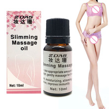 Potent Effect Lose Weight Essential Oils Thin Leg Waist Fat Burning Natural Safety Weight Loss Products Slimming Creams 10ml 3(China)