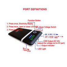 5V 6V 9V 12V power bank 18650 Battery charging Mobile Power Charger Box DIY