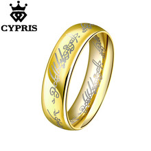 MAGIC JEWELRY LORD OF RINGS HOBBIT WHOLESALE TOP QUALITY ENGRAVED MEN   Silver plated new design finger ring for lady
