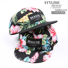 Hot 2016 Brand New Snapback Cap Outdoor Cap Men and Women Adjustable Hip Hop Black Snap back Baseball Caps Flower Hats Gorras