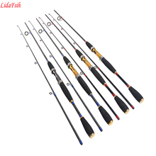 LIDAFISHCarbon LureRod MH tune fishing rod red and blue SpinningRod2 section free shipping(China)