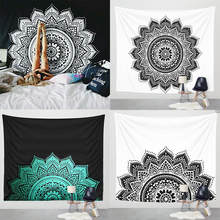 150 * 150cm square beach towel printing mandala tapestry wholesale Home decoration beach towel for adults