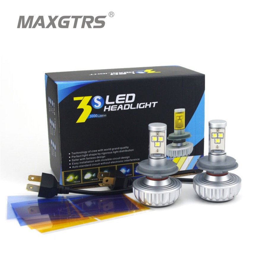 Sale! NEW H4/9003/HB2 56W 6000LM CREE Chip XML2 LED Headlight Light Conversion Kit Lamp Bulb High Low Beam 6500k/8000K/10000K<br><br>Aliexpress