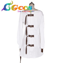 CGCOS Free Shipping Cosplay Costume Alice: Madness Returns Alice New in Stock RetailWholesale Halloween Christmas Party Uniform
