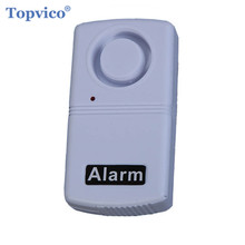 Mini Shock Vibration Alarm Sensor Detector Anti-Theft Home Security Alarm Systems 120dB Voice for Door Window Car(China)