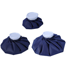 3 Size Sport Injury Ice Bag Cap Reusable Health Care Cold Therapy Pack Cool Pack Muscle Aches First Aid Relief Pain Navy Blue