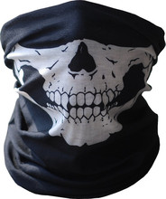 Halloween Skull Tubular Mask Masque Bandana Motorcycle Scarf Face Neck Warmer GHOSTS Helmet Masquerade Masks Phone bags & cases(China)