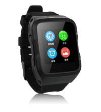 2016 3G Android Wrist Watch Phone MTK6580 Quad Core Single SIM Smartphone Wifi GPS S83 Bluetooth Wear smartwatch Mobile phone