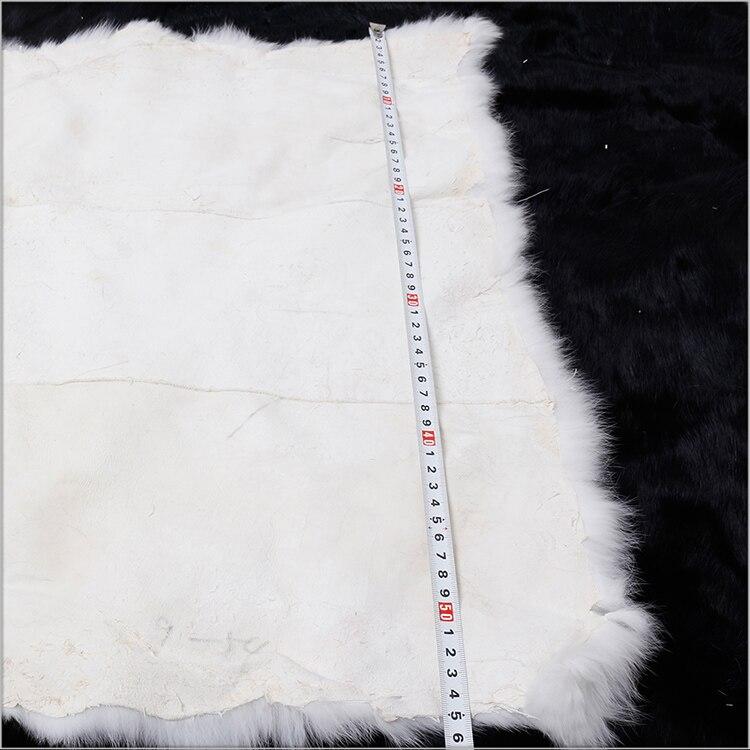 White rabbit fur Plate (2)