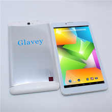 Glavey 7 inch tablet pc 3G GSM Android 4.4 Phone Call Phablet MTK6572 Dual Core 1GB+8GB 1024x600 GPS Bluetooth Flashlight(China)