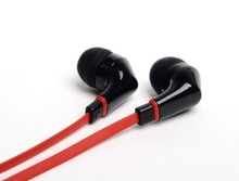 Wallytech WEA-111 Flat Cable Earphones For iPod iPad MP3 MP4 earbuds 3.5 mm jack  Free Shipping super bass sound