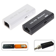 Brand New Mini 3G/4G WiFi Wlan Hotspot AP Client 150Mbps RJ45 USB Wireless Router For Mini 3G WiFi Router(China)