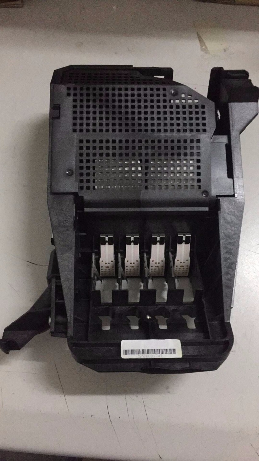 cartridges carriage station for hp 500 510 800 c7779 c7769 printer without detective board and blue cover<br>