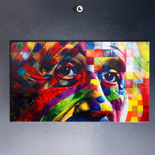 Albert Einstein Art canvas print POP ART Giclee poster print on canvas   for wall decoration painting