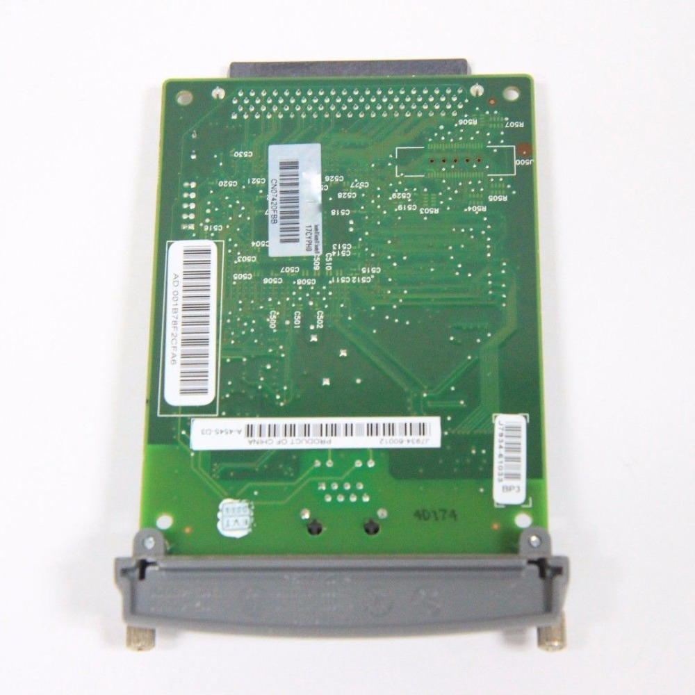 J7934A J7934G for HP 620N JETDIRECT 10/100tx 5200 5550 9050 Printer Server Card<br>