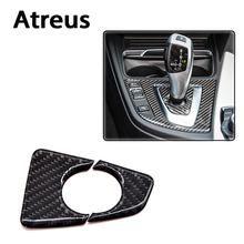 Buy Atreus BMW F30 F35 Accessories 3-Series GT 320i 328i Car Styling Carbon Fiber Gears Shift Panel Interior Car Stickers for $8.99 in AliExpress store