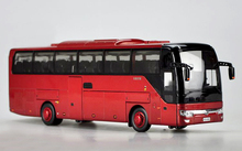Original 1:42 YUTONG ZK6122H9 luxury tourist bus model Alloy bus Cars Collection