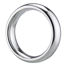 Buy Stainless Steel Delay Penis Rings Round Cock Rings Male Chastity Sex Toys Men Cockring Sex Products 40/45/50MM Choose