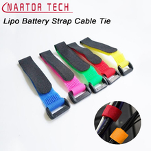 Nartor 20CM 300CM 40CM 4 Color Fantastic Multi-purpose Lipo Battery Strap Reusable Cable Tie Wrap Self Gripping(China)