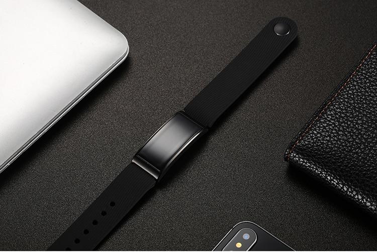 Microwear X3 IP68 Waterproof smart fitness bracelet pedometer blood pressure smart wristband Android iOS fitness tracker 14