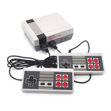 Retro TV Video Game Console Mini Handheld Game Player Double Joysticks Classic 8 Bit Gaming Players with Bulit-in 600 Games(China)