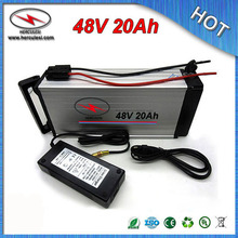 China manufacturer of Electric Bike Battery 48V 20Ah lithium ion battery 1000W built in 13S 30A BMS 3.7V 2.6Ah 18650 cell(China)
