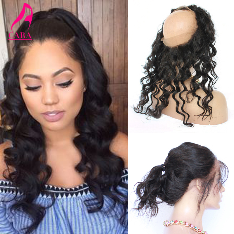 360 Frontal Peruvian Loose Wave Frontal 7A 360 Lace Virgin Hair Curly 22X4X2 360 Full Lace Frontal Closure With Baby Hair<br><br>Aliexpress