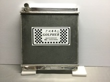Golpher Performance Custom Made Aluminum Radiator For CANTER 4M51 2002 FE82-FE88E OEM ME4033822