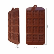 Silicone Mold /Chocalate Mould/ Baking Pans Jelly Candy Cooking Tools Silicone Ice Cub Tray A049