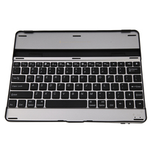Ultra-Thin Universal Aluminum Alloy Wireless Bluetooth Keyboard For iPad 2 3 4 Tablet Keyboard(China)