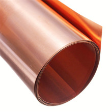 1pcs 99.9% Pure Copper Cu Metal Sheet Plate 0.2mm*100mm*1000mm Best Price