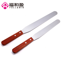 2 DifferentSize 8/10 Inch Pastry Spatulas Staright Stainless Steel Kitchen Butter Cream Knife Cake Tools Made In China(China)