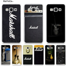 MaiYaCa guitar amp marshall music On Sale! Luxury Cool phone Case for samsung A3 A5 A7 A8 A9 note 4 note5 case coque Cover(China)