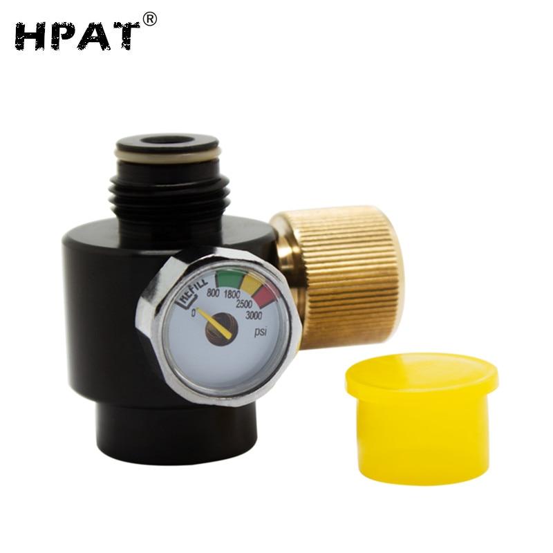 Paintball Co2 Adjustable 0-2000Psi Output Pressure Valve Regulator For Air Tank