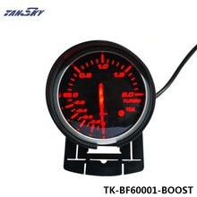 TANSKY Universal DF BF Style Racing Gauge Car Turbo Boost Gauge with Red & White Light For Ford Mustang 01-07 TK-BF60001-BOOST(China)