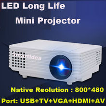 2015 Newest Cheap HD LED home cinema Projector HDMI LCD VGA LCD Game PC Digital Mini Projectors 1080P Proyector 3D Beamer