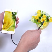 1-5M 2.0MP 6LED 8mm Wifi Endoscope Waterproof Inspection Camera For IOS Android  Cell phone Tablet Laptop