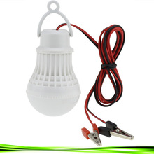 1XHigh Power 12V Led Bulb Portable Led Lamp Outdoor Camp Tent Night Fishing Emergency street vendor stall Hanging Light 3/5/7/9W(China)