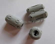 20 pcs / 1 pack Gray 5mm EMI Clip-on RFI Filters Snap On RF EMI Noise Around Cable Ferrite for Audio SYNC DATA cord new