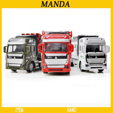 1:48 Engineering Truck Fire Engine Rocket Car Water Tank Car Concrete Car Pull Bck Car Models Boy Toys(China)