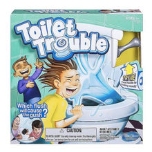Toilet Trouble Hilarious New Game Children With Sound Effects Toys Flush Fun Toy For Parents Kids Friends Play Together Gifts(China)