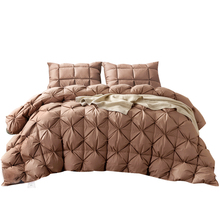 Svetanya Goose Down Duvet thick Warm Blanket luxury Quilt Comforter Bedding Filler French Bread Shape Stiching(China)