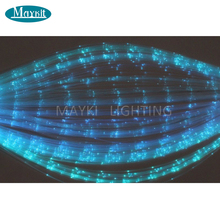 Maykit 1500m/Rl 1.0mm Diameter Sparkle Side Emitting Pmma Plastic Fiber Optic Cable Aliexpress For Diy Decoration