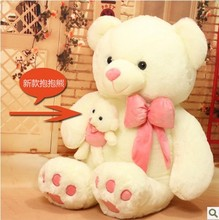 Free shipping 55cm  Teddy bear plush toy Love bear soft toy Gift for lover Christmas gift